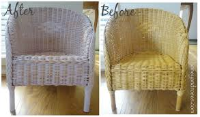 painted wicker furnitureHow to Paint a Wicker Chair with Chalk Paint  HONEY  ROSES