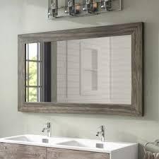 Image Black Landover Bathroomvanity Mirror Wayfair 55 Inch Bathroom Mirror Wayfair