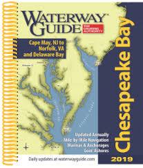 Chesapeake Bay Chart Book Bluewater Books Charts Waterway Guide Chesapeake Bay 2019