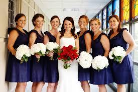 Mississippi Wedding Bella Bridesmaid Red White Blue Flowers