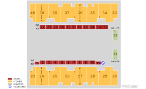 El Paso Coliseum Seating Chart El Paso County Coliseum El Paso Tickets Schedule