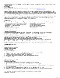 Famous Technical Support Specialist Job Resume Pictures