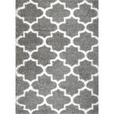 supreme royal trellis gray white area rug grey and chevron