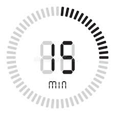 15 Min Timer Timer 15 Minutes Stock Vector Illustration Of Number 18884254
