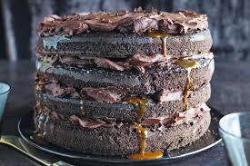 Caramel lava chocolate cake By mazen