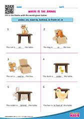 Free Printable Prepositions Worksheets For Pre K Kindergarten