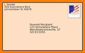 Envelope Format Format An Envelope 12 Night Club Nyc Guide