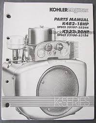 kohler magnum 18 20 hp m18 m20 service manual • 20 38 picclick original 1991 kohler engines parts manual k482 18hp k532 20hp k series