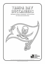 Cool Coloring Pages Nfl Teams Logos Tampa Bay Buccaneers To Football