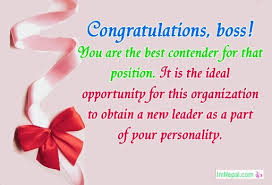 congrats on the new job quotes congratulations messages for boss promotion to manager wishes