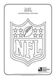 Cool Coloring Pages Nfl Logo Coloring Page Nfl Teams Logos