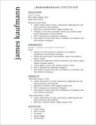 Resume Templates Examples Cool Best Templates For Resumes Resume Templates Best Free Resume