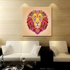 Living Room Canvas Paintings Popular Lion Canvas Painting Buy Cheap Lion Canvas Painting Lots