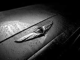 black hyundai genesis logo. Wonderful Hyundai Hyundai Genesis Winged Badge Intended Black Logo