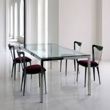 room modern camille glass: dining room glass top dining tables with metal base