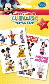 Tetování Mickey Mouse Club House