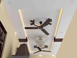 creative home design stunning two fan ceiling fan as false ceiling design ideas enjoyable