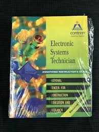 Details About Electronic Systems Technician Level 3 Trainee Guide By Nccer