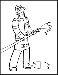 Small Picture Firefighter coloring pages printable ColoringStar