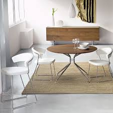 calligaris dining chair. New York Chair Sled Base By Calligaris In White Leather Dining