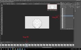 This gives you the power to edit each frame however you like without impacting the others in your you can also use photoshop to create animated gif files from video clips. Animated Gif Shows All Layers Instead 1 After 1 Graphic Design Stack Exchange