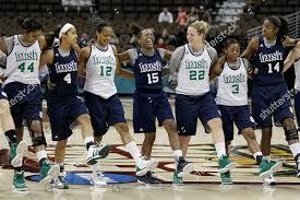Notre Dame Basketball Depth Chart Notre Dame Womens Basketball Players Dance Jig Editorial