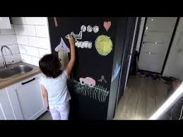 Как сделать грифельную стену, где можно <b>рисовать</b> мелом ...