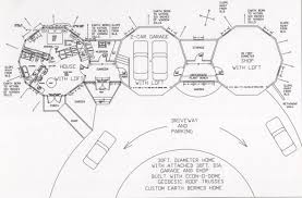 dome home floorplansThe foot diameter home above   be built in phases  The buildings   be built one at a time  or  all at once depending on time and money availability