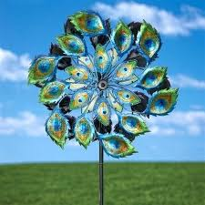 outdoor spinners outdoor hanging metal wind spinners