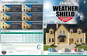 Dulux High Gloss Colour Chart Dulux Weathershield Colour Combinations Dulux Trade Ireland