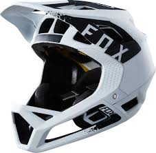 Fox Proframe Mink Full Face Helmet White Black