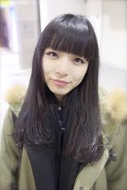 黒髪パッツンロング 仙台市 美容師 河村裕貴のブログ