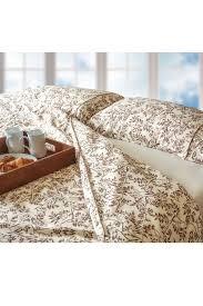 super king size brushed cotton bedding set