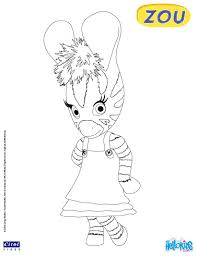 Small Picture Coloring Pages Zebra Color By Number Free Printable Coloring