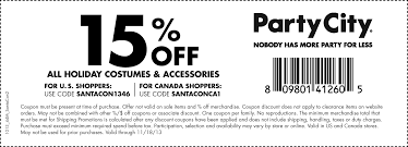 party city coupons off order party city coupons