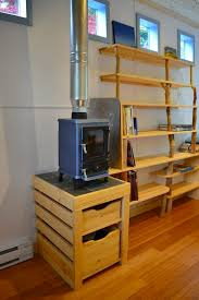 wood stove for tiny house. Hornby Island Caravan\u0027s Tiny Home Your Next Office Or Micro Guest House. Small Wood StovesTiny Stove For House