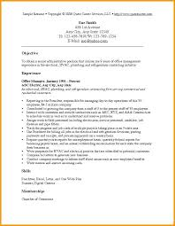The Perfect Objective For A Resume Airexpresscarrier Com