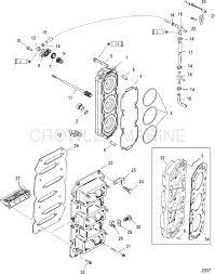 Reed block cylinder head