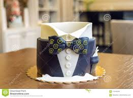 Beautiful Cake For Men Decorated In The Form Of A Suit With A Bow