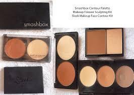 smashbox contour palette 45 mufe sculpting kit 48