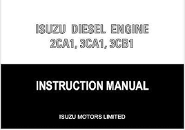 isuzu workshop manuals zeppy io isuzu 2ca1 3ca1 3cb1 diesel workshop service maintenace manual