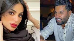 زهرة الخليج - عقد قران المدون الكويتي يعقوب بوشهري على فاطمة الأنصاري
