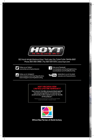 Hoyt 2018 Recurve Bows Manual By Davy Goedertier Issuu