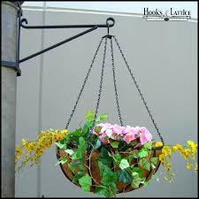 commercial hanging basket brackets to enlarge heavy duty wall