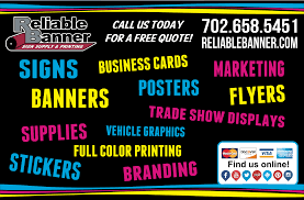 signs banners posters business cards printing in las vegas reliable banner lasvegas printing