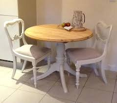 round pine dining table and chairs small round pine dining table kitchen table 2 chairs pine