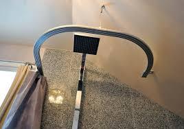 shower curtain rail ikea curtains design gallery bendable shower curtain rod