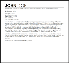 Ideas Collection Cover Letter Sample Dentist Also Free Dental