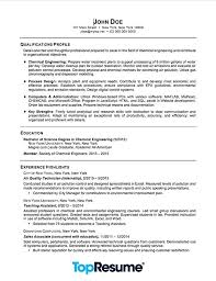 Skills Focused Cv Example Based Resume Sample Entry Level Examples