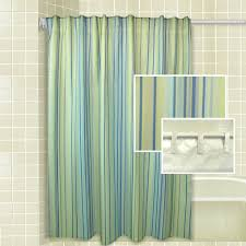 brown and aqua shower curtain. green blue and yellow striped shower curtain brown aqua